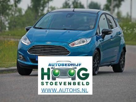 Ford fiesta: steeds groter en luxer