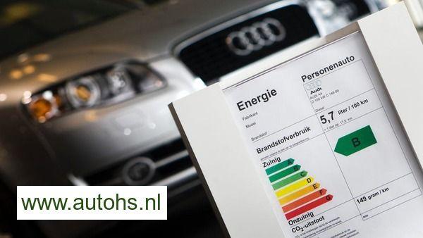 Het energielabel van mijn auto berekenen